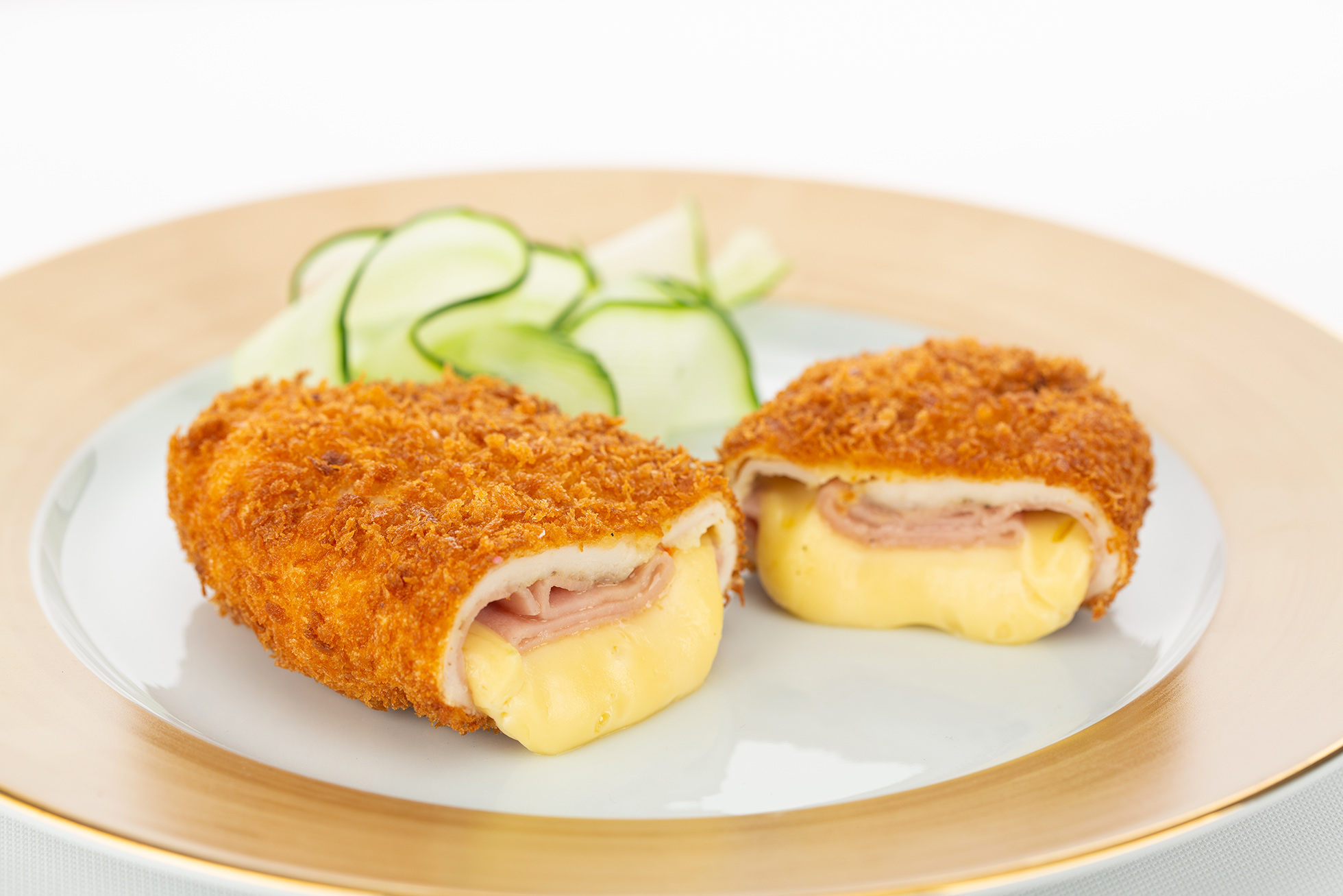 Cordon bleu with Charmidor