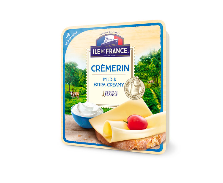 ILE DE FRANCE® Crémerin packaging image