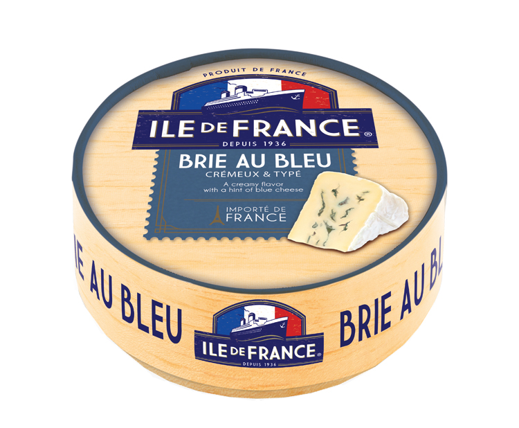 Brie au Bleu packaging