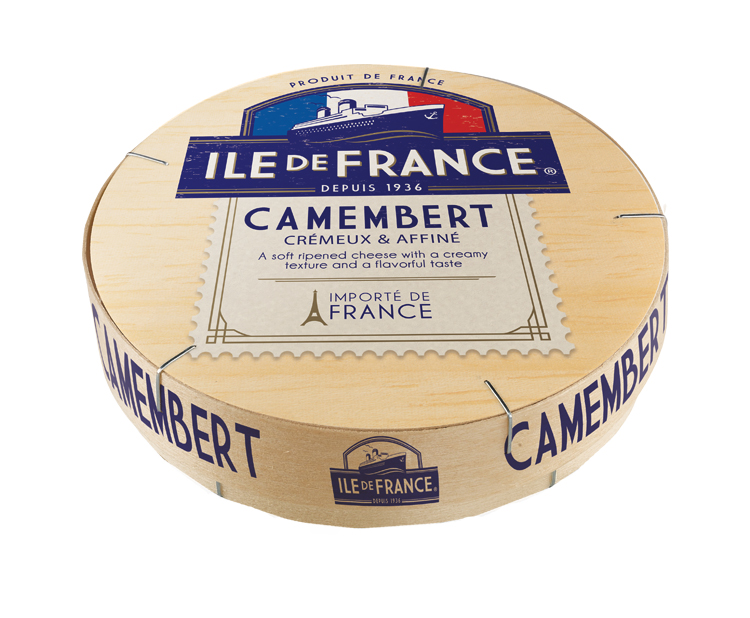 Camembert packaging