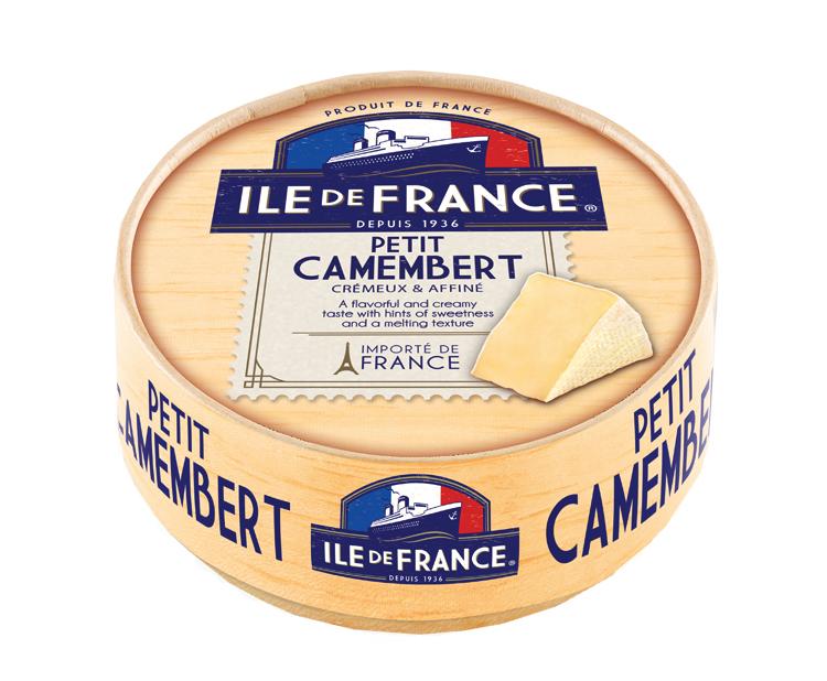 Petit camembert packaging