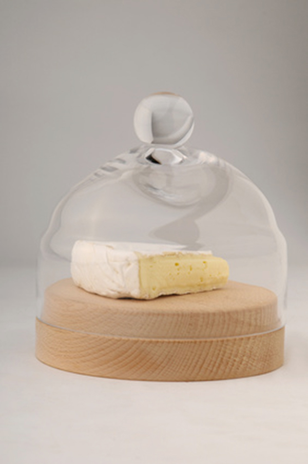 cheese under a cover