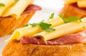 ILE DE FRANCE® Montaver on a slice of bread