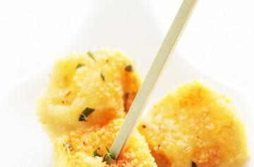 Croquetas mediterráneas de Petit Brie