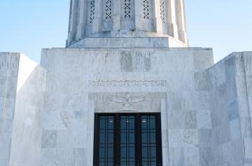 Capitol of the State of Oregon in the United States